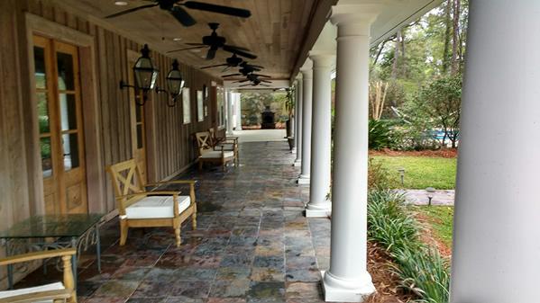 ClearAway Home Services Tallahassee Front Porch